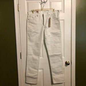 Men's Levi's White Jeans